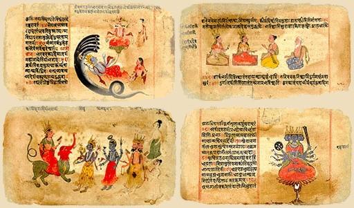 Resultado de imagen para los vedas libros sagrados